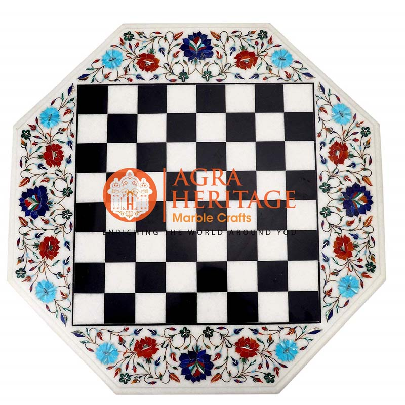 chess table top prices, marble chess inlay table top, stone chess table in agra, marble chess table, marble inlay chess table, inlay marble top, marble chess inlay table top