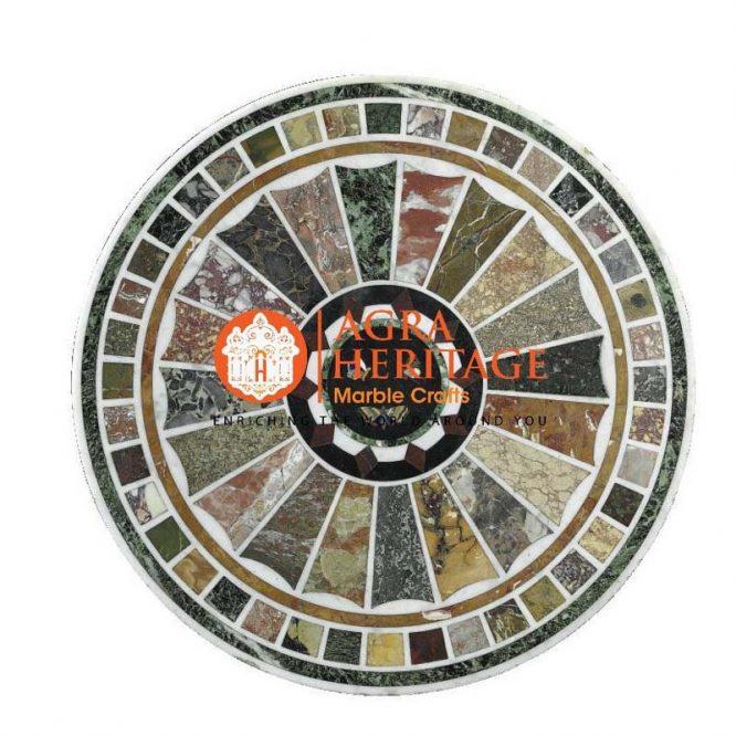 marble inlay dining table, garden decor table, customized dining table, decorative inlay dining table