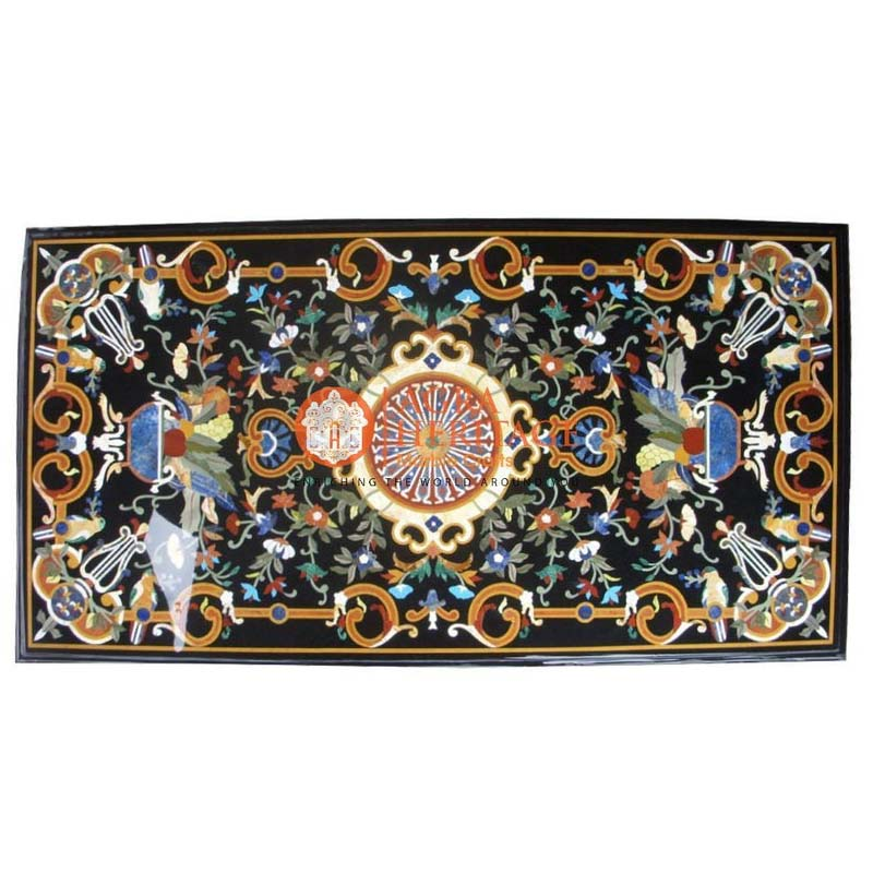 buy online dining table, decorative inlay dining table, garden decor table, hallway dining table, inlay dining table, inlay table top