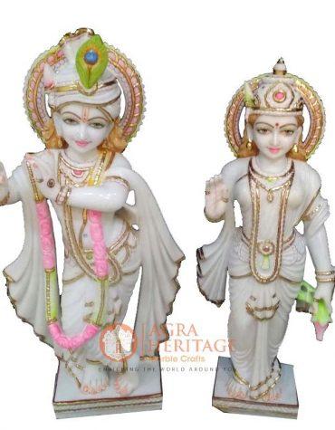 marble radha krishna, decorative radha krishna, marble sculpture, radha krishna statue, statue for love gift, radha krishna murti, statue for housewarming gift, divine sculpture, handmade radha krishna murti,