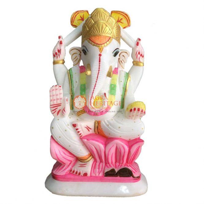 ganesh idol, white ganesh, marble sculpture, marble statue, ganesh statue, stone ganesha, lord ganesha, ganesh figurine, gemstone ganesha, hindu god, god ganesha