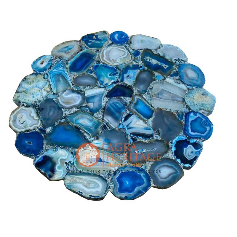 agate side table, natural agate table top, agate table top at best price, agate table top in india, kitchen table top, hallway table top, living room table