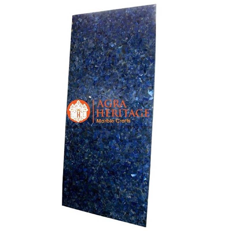 buy lapis lazuli stone table online, lapis lazuli random table, buy online dining table, dining stone table top, customized dining table, furniture decorative table, dining table for home decor
