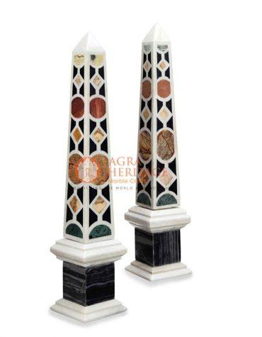 marble white obelisks, marble obelisks for sale, decorative marble obelisks, marble obelisks statue, marble obelisks miniatures, handmade obelisks