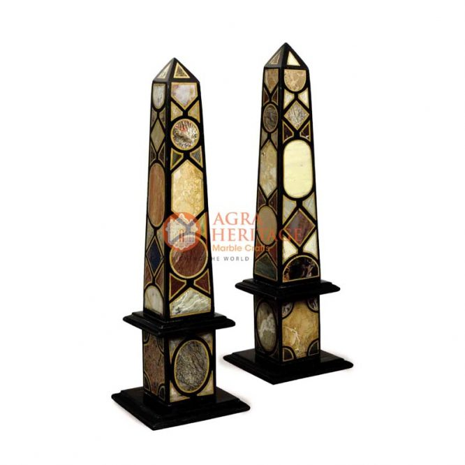 marble obelisks, stone obelisk, obelisk monument, black obelisks, italian obelisks miniature, pair of marble obelisks, decorative obelisks, obelisks statue, handmade obelisks