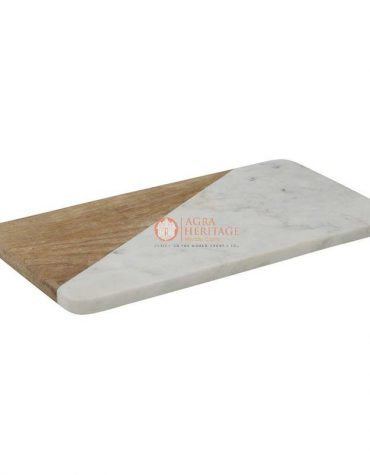 marble cheese board, cutting board, marble and wood cutting board, handmade board, kitchen accessories, marble & wood platter