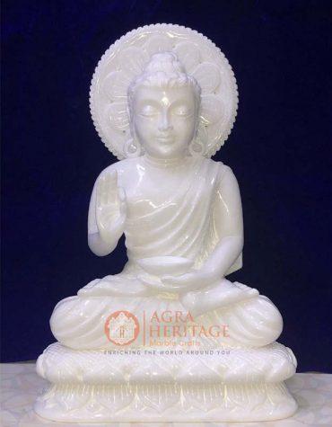 good luck buddha, marble buddha, lord buddha, decorative buddha, buddha figure, blessing buddha, stone buddha, gautam buddha statue,white marble buddha, handmade buddha