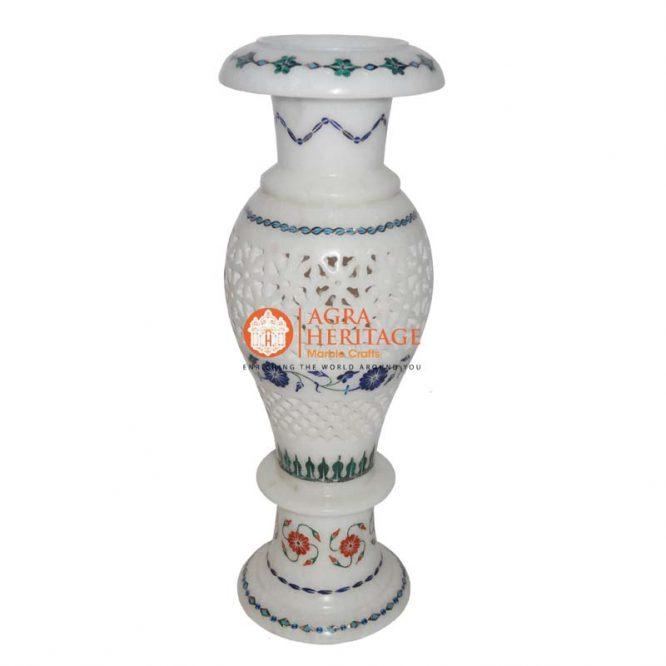 vase, marble stone handicraft vase, marble vase for home decor, vase for giving gift