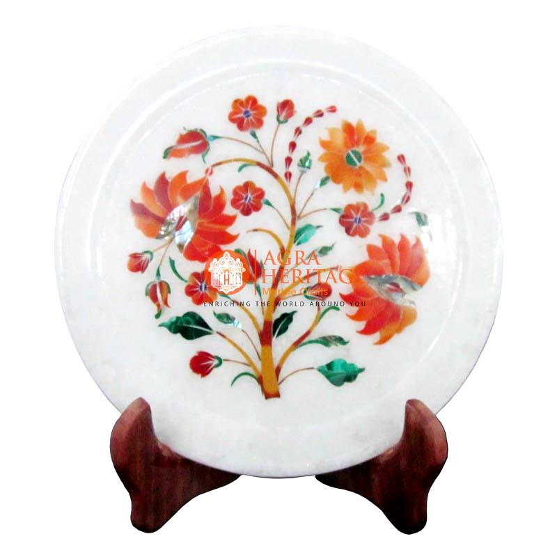 white marble plate,marble plate,decorative plate,dish plate,houswarming gift plate,dining plate,kitchen plate carnelian table plate,interior plate