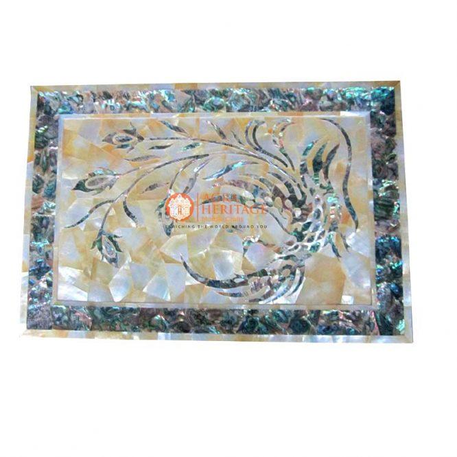 white marble tray,marble tray,decorative tray,dish tray,houswarming gift tray,dining tray,kitchen tray,mother of pearls table tray,interior tray,peacock art tray,serving tray