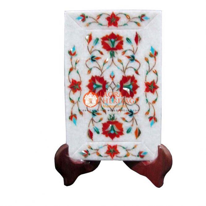 marble tray,white marble tray,carnelian tray,inlaid tray,interior tray,decorative tray,housewarming tray,home decor tray,serving tray,dining tray,kitchen tray,table tray,