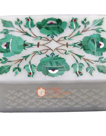storage box, jewelry box, malachite box,decorative box ,inlay floral box,marble interior,decoration box,white marble box,