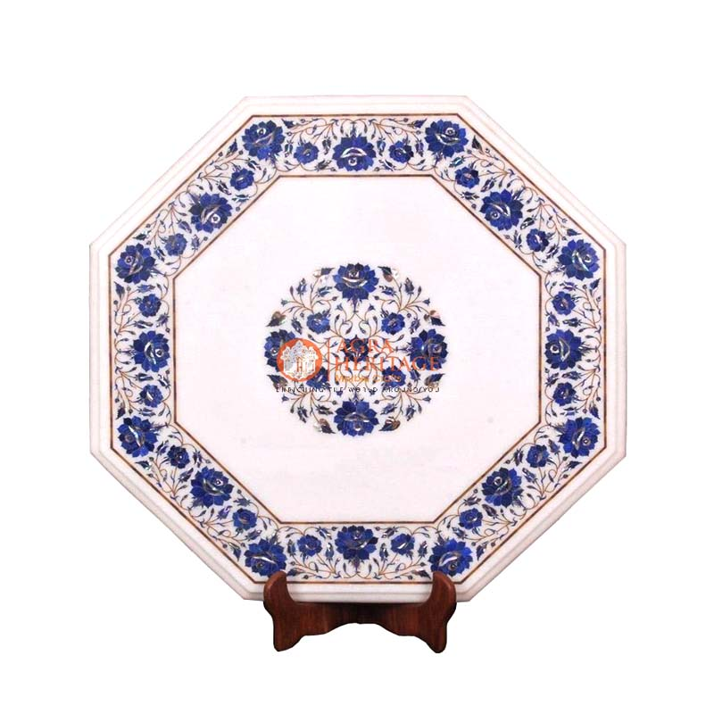 buy marble table, center side table, buy lapis lazuli stone table online, customized coffee table, decorative coffee table, Coffee stone table top, corner table top, furniture decorative table, home decor table, garden decor table, inlaid floral stone table, lapis lazuli tables prices,