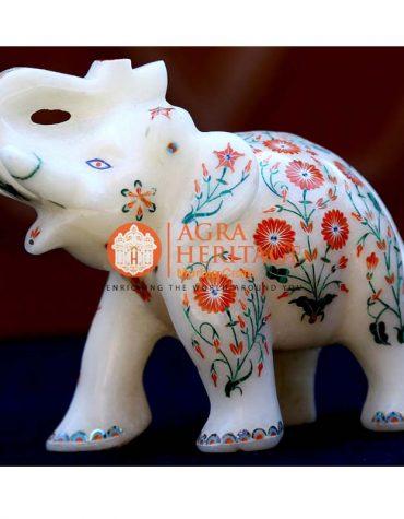 elephant statues, white marble elephant decor, marble elephant, elephant figurine, elephant sculpture, stone elephant, trunk up elephant, good luck elephant