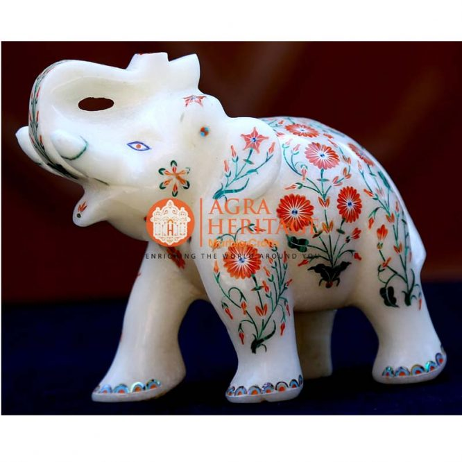 elephant statues, white marble elephant decor, marble elephant, elephant figurine, elephant sculpture, stone elephant, trunk up elephant, good luck elephant