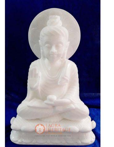 marble buddha, religious buddha sculpture, handmade buddha statue, handmade buddha sculpture, white marble buddha