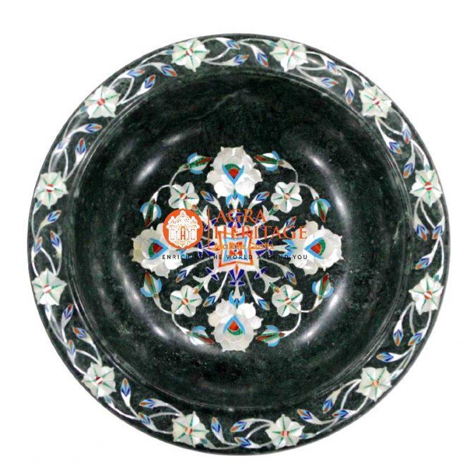 marble bowl ,decorative bowl,serving bowl,table decor, kitchen sale,gift decor,stoneware bowl,stone art bowl,pietradura bowl, decoration bowl,idea for gift,