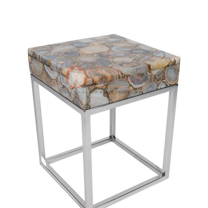 agate side table, natural agate table top, agate table top at best price, agate table top in india, kitchen table top, hallway table top, living room table,