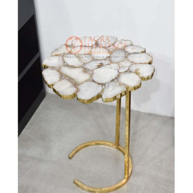 agate table top in india, agate table top online, agate table price, round agate table, agate furniture decor, agate stone table,