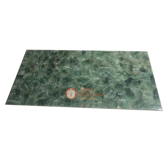 green flourite table, rectangle dining table, dining table top, handmade table top, outdoor table top, living room table top, hallway table top, furniture decor table, decorative dining table, center dining table