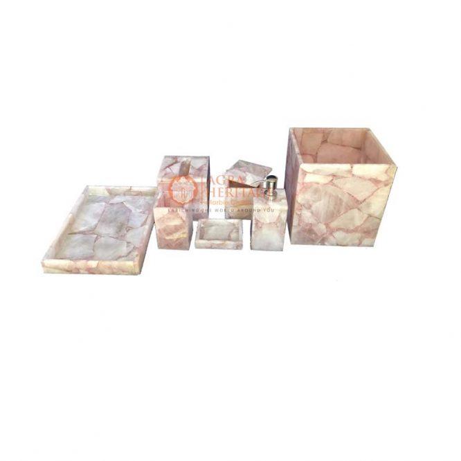 agate bathroom set,decorative bathroom set, handmade bathroom set,handicraft decor,home decor, bathroom decor,home decor,decoration bathroom,bathroom accessory,