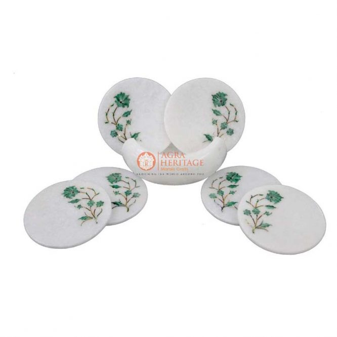 marble coaster set, marble coaster set for sale, white marble coaster set, white marble coaster set, marble coasters india, marble coasters online, marble inlay coaster set, marble round coaster set, marble tea coaster