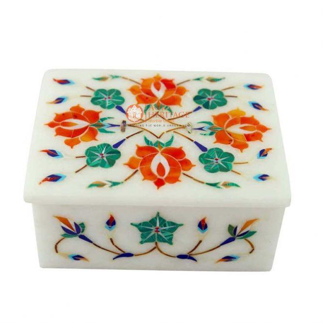 vintage box,costume box,handmade box,trinket box,jewelry storage box,personalize box,marble box,white marble box, decorative box,gift for her,online sale gift,anniversary gift,